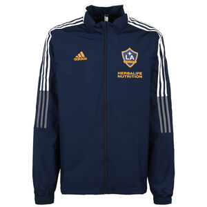LA Galaxy All-Weather Jacke Herren, dunkelblau / weiß, zoom bei OUTFITTER Online