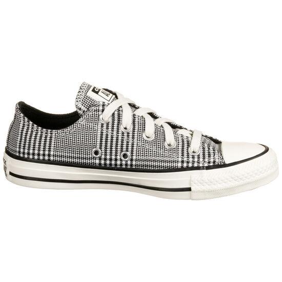 Chuck Taylor All Star OX Sneaker Damen, schwarz / weiß, zoom bei OUTFITTER Online