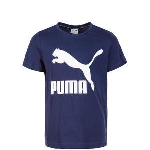 Classic T-Shirt Kinder, dunkelblau / weiß, zoom bei OUTFITTER Online