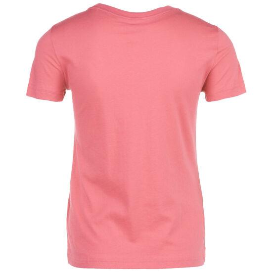 Essentials Lineal Slim T-Shirt Damen, rosa / weiß, zoom bei OUTFITTER Online