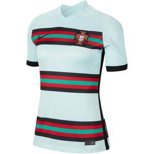 Portugal Trikot Away Stadium EM 2021 Damen, mint / rot, zoom bei OUTFITTER Online