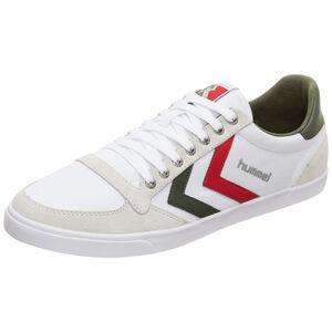 Slimmer Stadil Low Sneaker, weiß / grün, zoom bei OUTFITTER Online