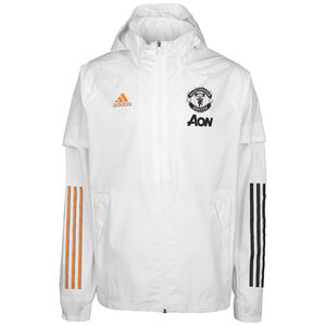 Manchester United All Weather Jacke Herren, weiß, zoom bei OUTFITTER Online