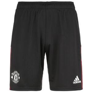 Manchester United Trainingsshorts Herren, schwarz / rot, zoom bei OUTFITTER Online