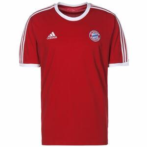 FC Bayern München 3-Streifen T-Shirt Herren, rot / weiß, zoom bei OUTFITTER Online