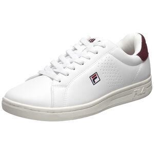 Crosscourt 2 F Low Sneaker Herren, weiß / dunkelbraun, zoom bei OUTFITTER Online