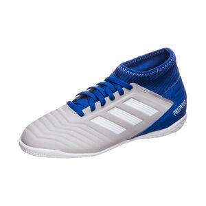 Predator 19.3 Indoor Fußballschuh Kinder, grau / blau, zoom bei OUTFITTER Online