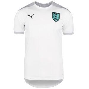 ÖFB Österreich Trainingsshirt EM 2021 Herren, weiß / grau, zoom bei OUTFITTER Online