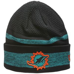 NFL Miami Dolphins Sideline Tech Knit Beanie, , zoom bei OUTFITTER Online