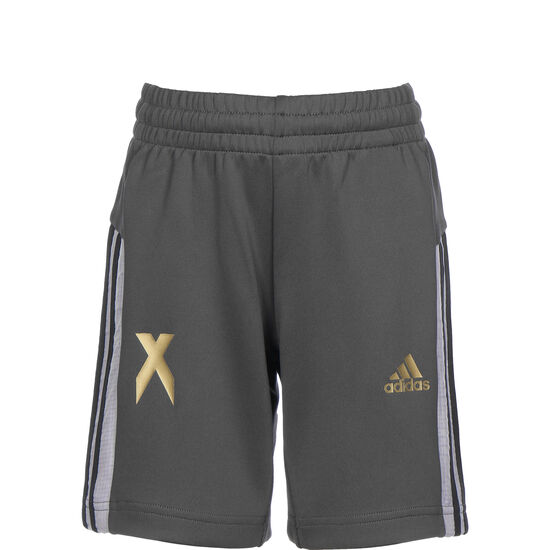 Football Inspired x Aeroready Trainingsshorts Kinder, grau, zoom bei OUTFITTER Online