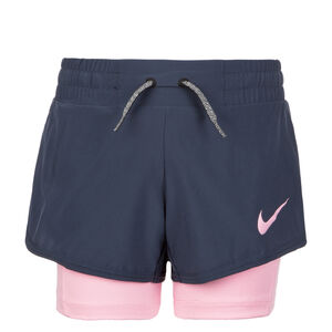 Dry 2 in 1 Trainingsshort Kinder, Blau, zoom bei OUTFITTER Online