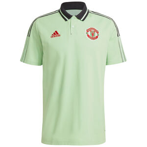Manchester United Poloshirt Herren, mint / schwarz, zoom bei OUTFITTER Online
