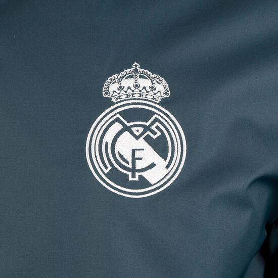 Real Madrid Anthem Präsentationsjacke Herren, anthrazit, zoom bei OUTFITTER Online