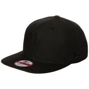 9FIFTY Black on Black Manchester United Snapback Cap, Schwarz, zoom bei OUTFITTER Online