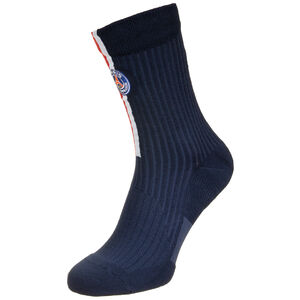 Paris St.-Germain Squad Crew Socken, dunkelblau / rot, zoom bei OUTFITTER Online