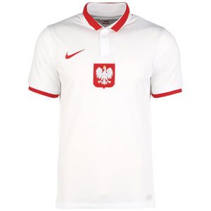 Polen Trikot Home Stadium EM 2021 Herren, weiß / rot, zoom bei OUTFITTER Online