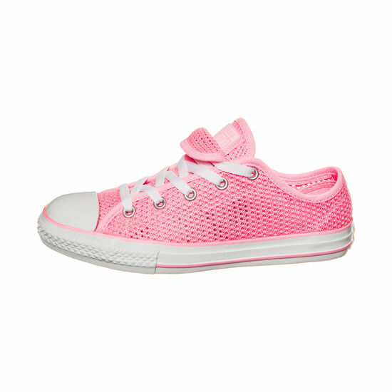 Chuck Taylor All Star Double Tongue OX Sneaker Kinder, Pink, zoom bei OUTFITTER Online