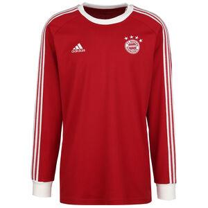 FC Bayern München Icons Longsleeve Herren, rot / weiß, zoom bei OUTFITTER Online