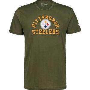 NFL Pittsburgh Steelers Arch Wordmark T-Shirt Herren, grün, zoom bei OUTFITTER Online
