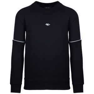 Hash Basic Crewneck Sweatshirt Herren, schwarz / weiß, zoom bei OUTFITTER Online