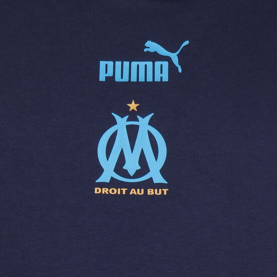 Olympique Marseille FtblCulture II Kapuzenpullover Herren, dunkelblau / hellblau, zoom bei OUTFITTER Online