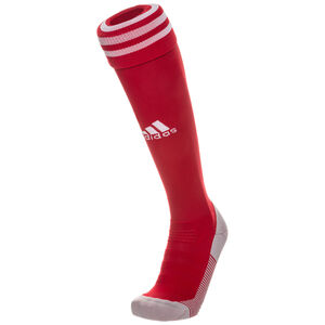 Adi Sock 18 Sockenstutzen, rot / weiß, zoom bei OUTFITTER Online