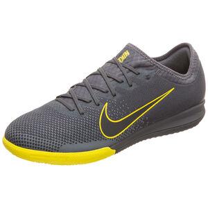 Mercurial Vapor XII Pro Indoor Fußballschuh Herren, anthrazit / gelb, zoom bei OUTFITTER Online
