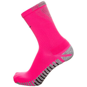 Grip Strike Light Crew Socken Herren, pink / schwarz, zoom bei OUTFITTER Online