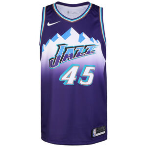 NBA City Edition Utah Jazz Donovan Mitchell Basketballtrikot Herren, lila / hellblau, zoom bei OUTFITTER Online