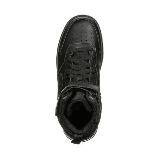 Court Borough Mid Sneaker Kinder, schwarz, zoom bei OUTFITTER Online
