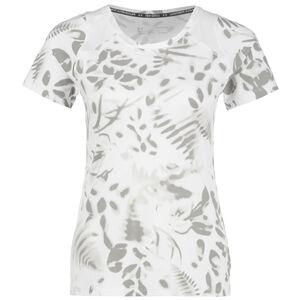 Iso-Chill 200 Print Laufshirt Damen, weiß / grau, zoom bei OUTFITTER Online