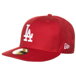 59FIFTY MLB Basic Los Angeles Dodgers Cap, Rot, zoom bei OUTFITTER Online