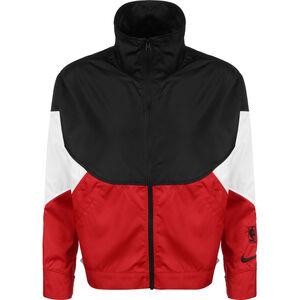 Chicago Bulls Trainingsjacke Damen, schwarz / rot, zoom bei OUTFITTER Online