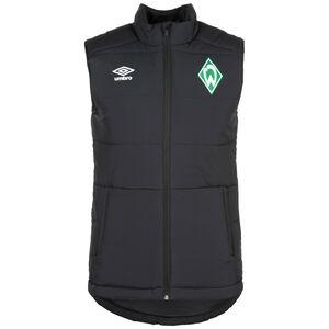 SV Werder Bremen Padded Weste Herren, schwarz, zoom bei OUTFITTER Online