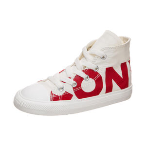 Chuck Taylor All Star Wordmark High Sneaker Kleinkinder, Beige, zoom bei OUTFITTER Online