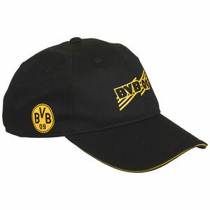Borussia Dortmund BVB ftblCore Cap, schwarz / gelb, zoom bei OUTFITTER Online