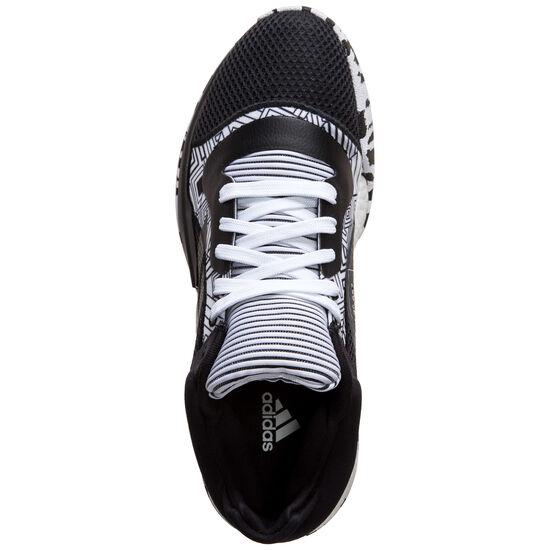 Marquee Boost Low Basketballschuhe Herren, schwarz / weiß, zoom bei OUTFITTER Online