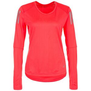 Own the Run Lauflongsleeve Damen, neonrot, zoom bei OUTFITTER Online