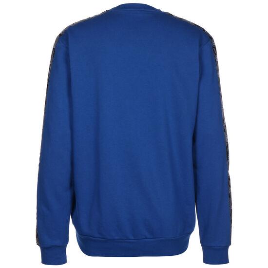 Essentials Tape Sweatshirt Herren, blau / weiß, zoom bei OUTFITTER Online