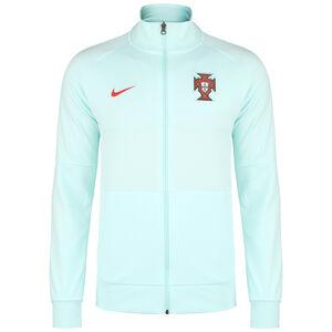 Portugal I96 Anthem Jacke EM 2021 Herren, mint / rot, zoom bei OUTFITTER Online