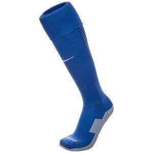 Matchfit Cushioned Sockenstutzen, blau / weiß, zoom bei OUTFITTER Online