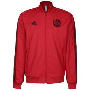 Manchester United Anthem Jacke Herren, rot / schwarz, zoom bei OUTFITTER Online