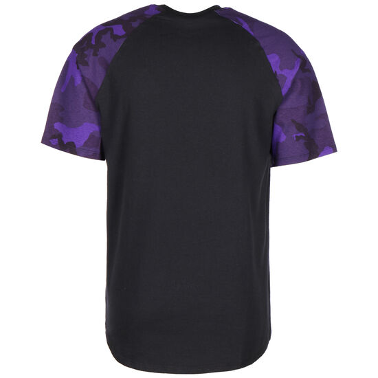 Los Angeles Lakers Trainingsshirt Herren, schwarz / lila, zoom bei OUTFITTER Online