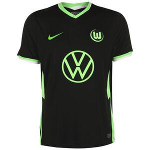 VfL Wolfsburg Trikot Away Stadium 2020/2021 Herren, schwarz / hellgrün, zoom bei OUTFITTER Online