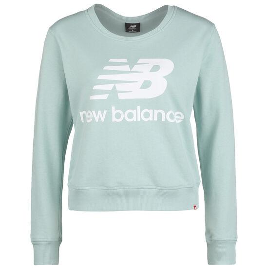 Essentials Crew Sweatshirt Damen, blau / dunkelblau, zoom bei OUTFITTER Online