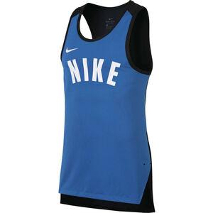 Dri-FIT Hyper Elite Basketballtank Herren, blau, zoom bei OUTFITTER Online