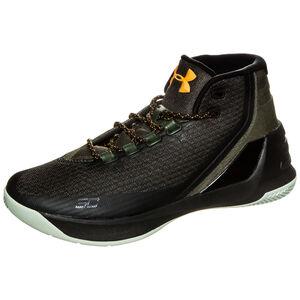 Curry 3 Basketballschuh Herren, Grün, zoom bei OUTFITTER Online