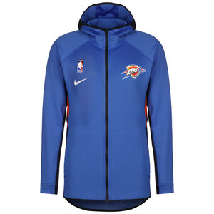 NBA Oklahoma City Thunder Therma Flex Kapuzenjacke Herren, blau / orange, zoom bei OUTFITTER Online