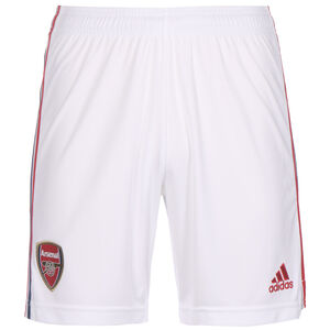 FC Arsenal Shorts Home 2021/2022 Herren, weiß / rot, zoom bei OUTFITTER Online