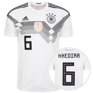 DFB Trikot Home Khedira WM 2018 Herren, Weiß, zoom bei OUTFITTER Online